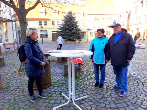 Bürgersprechstunde auf dem Holzmarkt