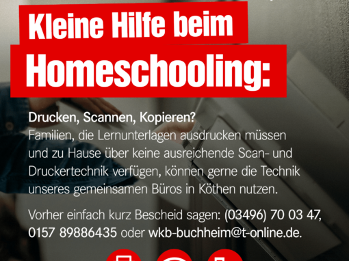 Kleine Hilfe beim Homeschooling