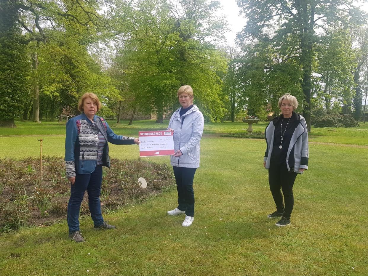 Spende an Förderverein Irrgarten Jessnitz