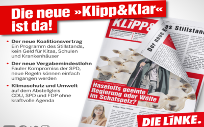 """Fraktionszeitung """"Klipp&Klar"""""""